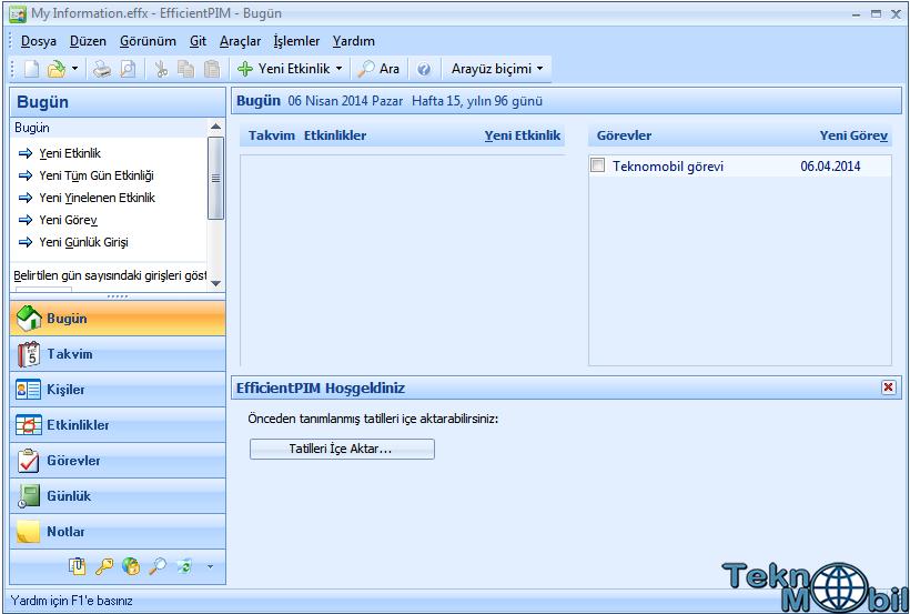 EfficientPIM Pro v5.50.533 Türkçe Full İndir