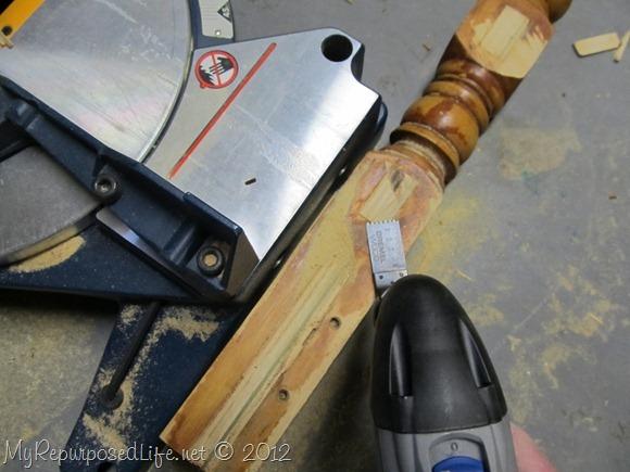 dremel multi tool flush cut