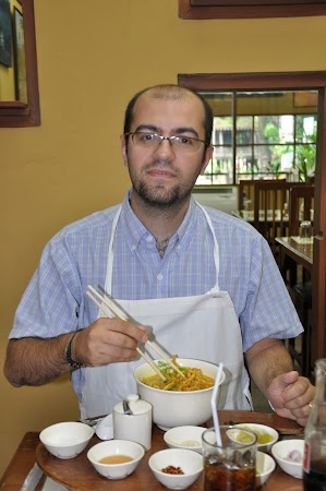 Imagini Thailanda: Pranz la Restaurantul Just Khao Soy din Chiang Mai, Thailanda