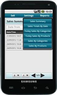 Bonrix Cash Register POS- screenshot thumbnail