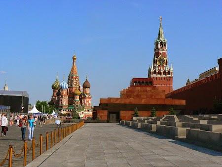 Circuit Rusia: Piata Rosie Moscova