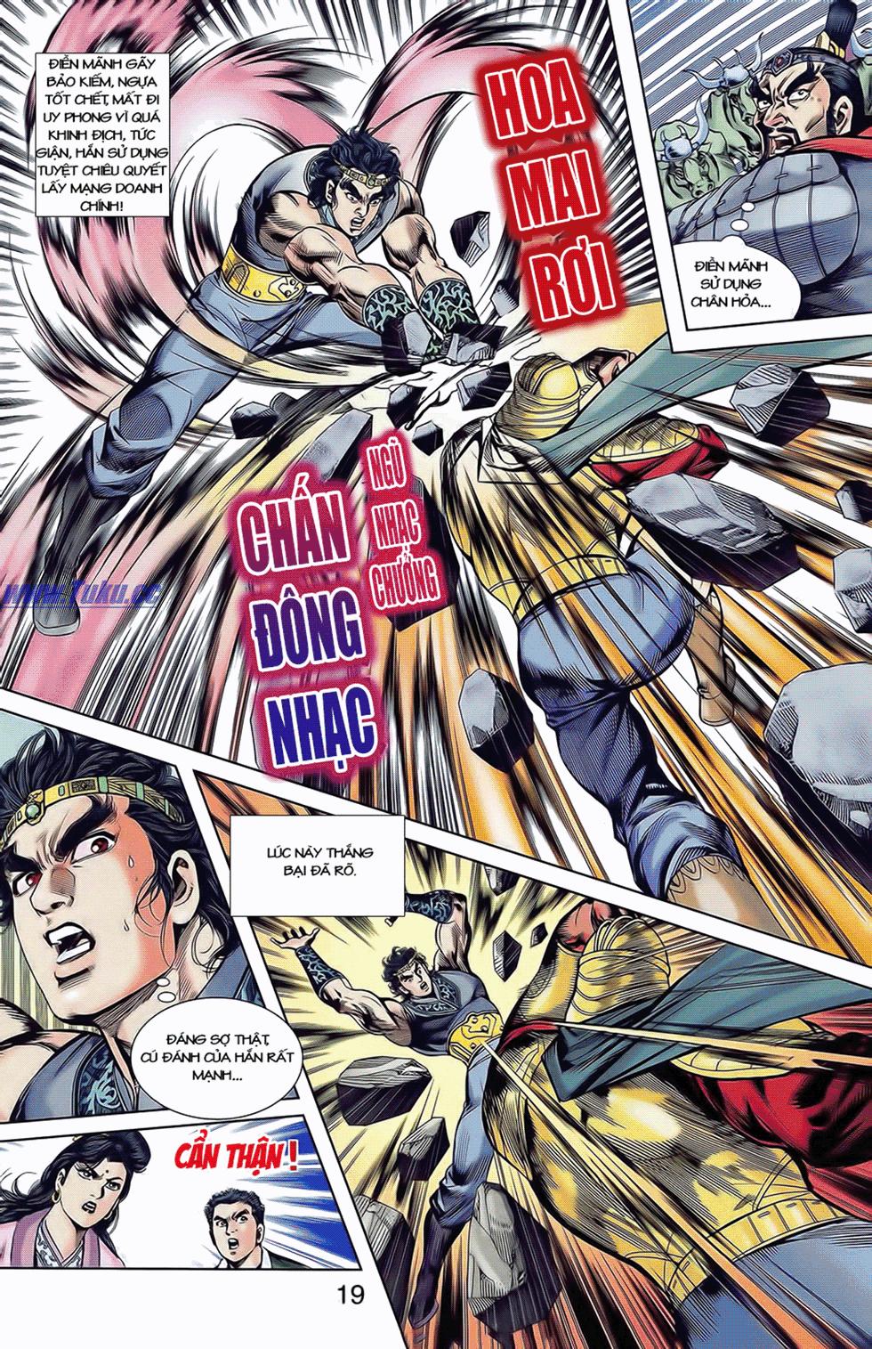 Tần Vương Doanh Chính chapter 9 trang 22