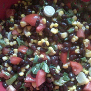 Easy Black-Bean Corn Salad.