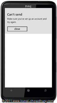 WP7.1 Demo - Email Compose Task