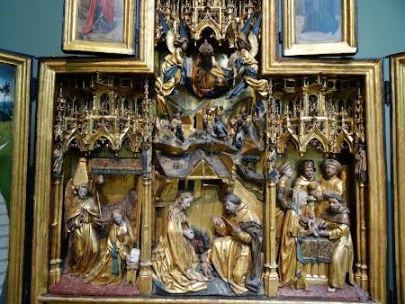 Muzeu Berlin: Altar german medieval