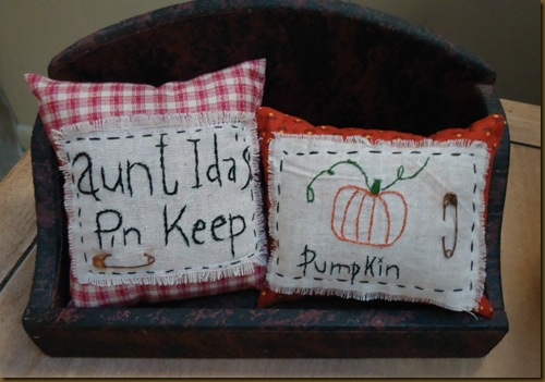 Pillow Tucks from Linda Parker