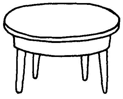Mesa Dibujos Faciles Wwwimagenesmycom