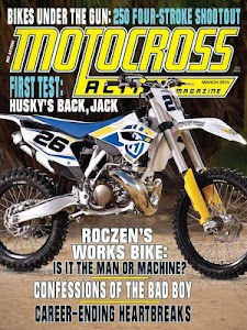 Motocross Action Magazine screenshot 0