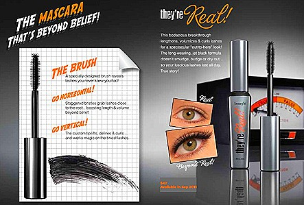 Benefit Mascara REAL mascara