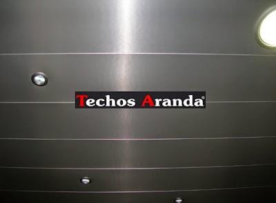 Techos aluminio Almazora