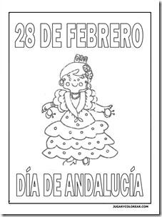 colorear día de Andalucía — category