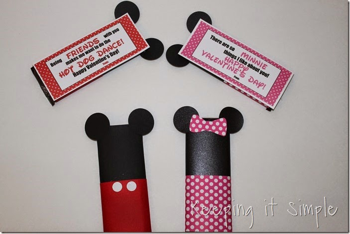 Mickey and Minnie Mouse Candy Bar Valentines  (18)