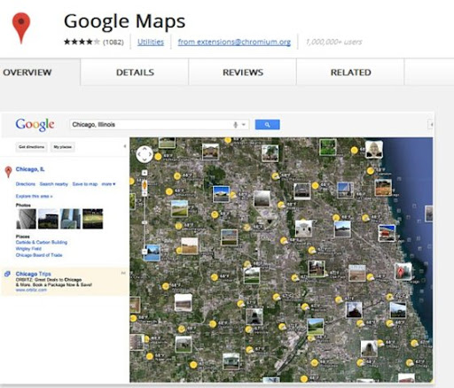 Google Maps para Chrome