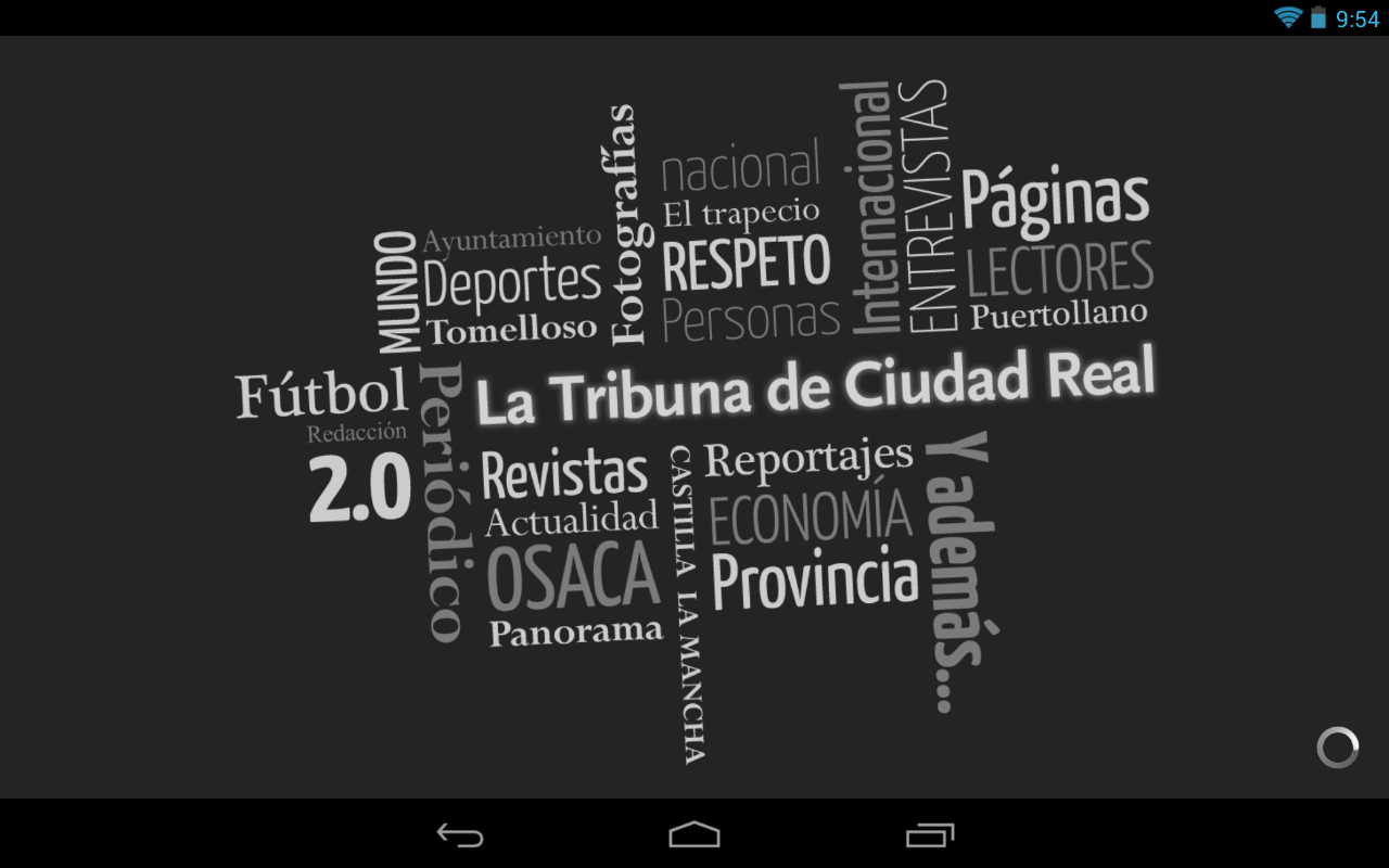 La Tribuna de Ciudad Real- screenshot