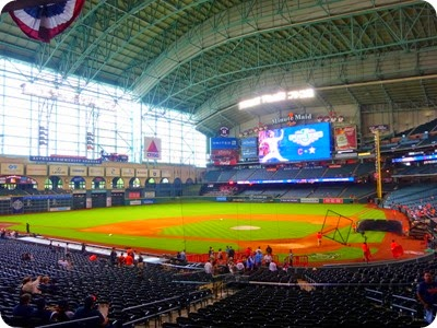 Astros/Indians game