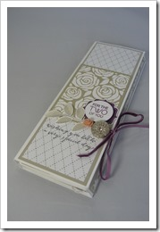 Artisan Embellishments & Something Borrowed TriFold Mini Book by Amanda Bates at The Craft Spa  (1)