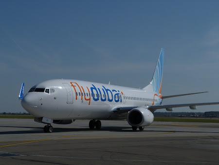 5. Fly Dubai la Bucuresti.JPG