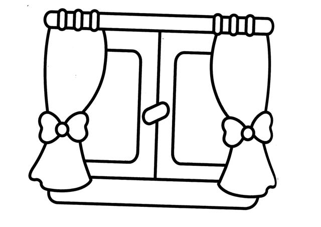 Dibujos De Ventanas Para Colorear White Window Clipart Fondos De