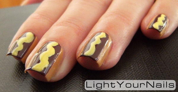 hot dogs nail art