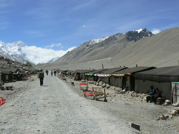 Obiective turistice Tibet: Everest Base Camp