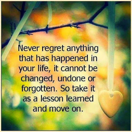 Don T Regret Anything In Life Quotes: Gypssy Soul Footsteps: Quotes