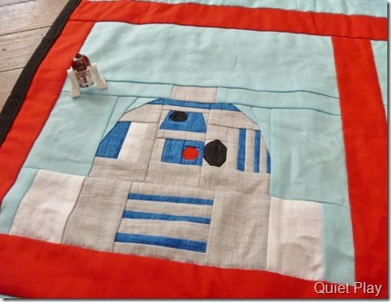 LEGO Paper pieced R2D2