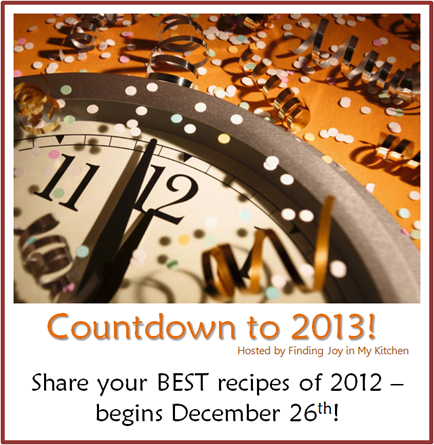 Countdown to 2013 @ Finding Joy of My Kitchen
