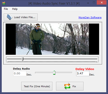Fix Out of Sync Audio of a Video File