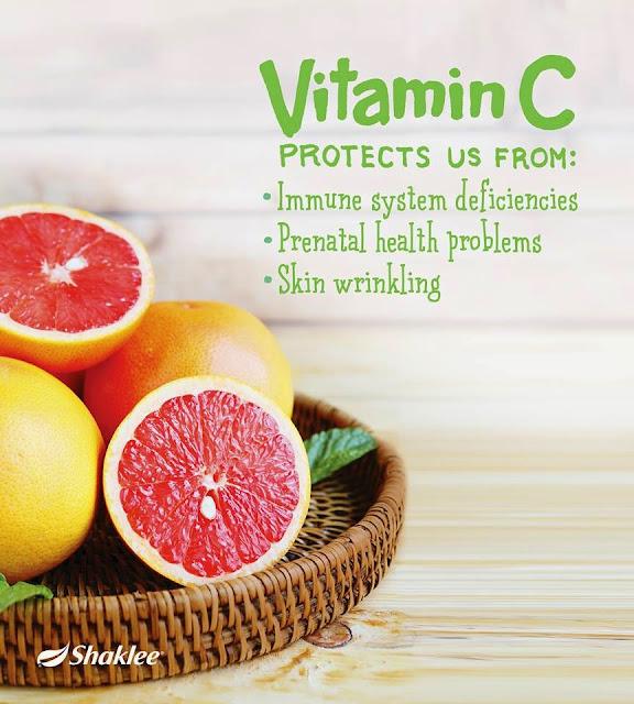 kuatkan sistem imun dengan vitamin c shaklee
