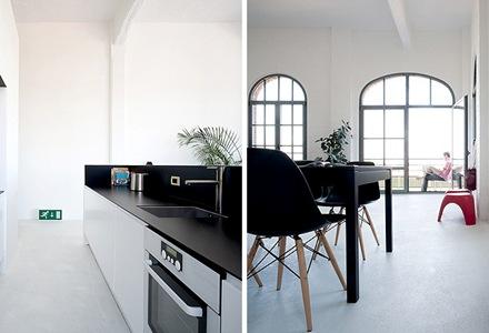 cocina-de-diseño-sala-de-diseño-negro-y-blanco