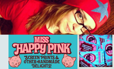 Miss Happy Pink