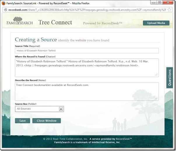 记录 eek自动创建家庭搜索系列树网页来源
