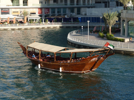 Obiective turistice Dubai: vas prin Dubai Marina