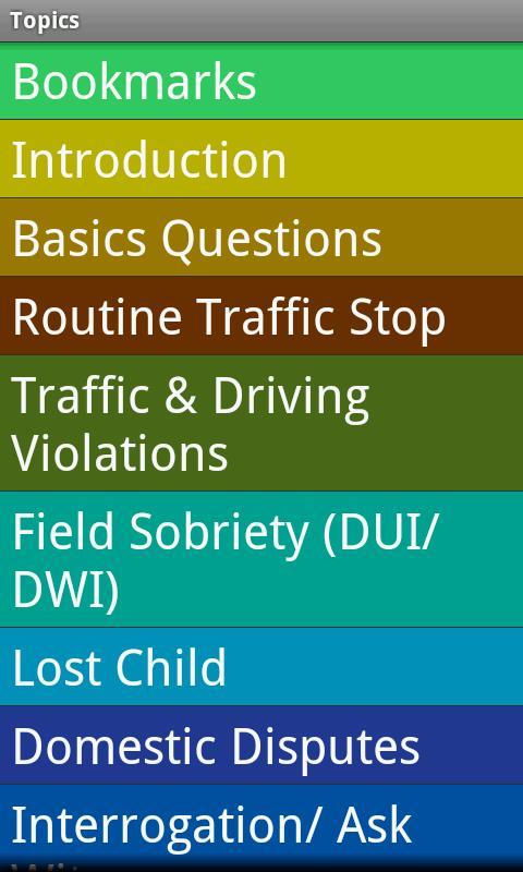 Police Spanish Guide- screenshot