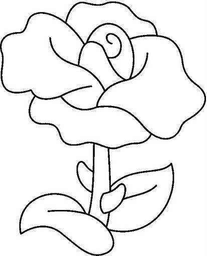 Madison Dibujos De Rosas Para Colorear