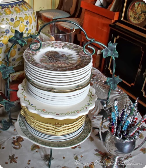 Thanksgiving Dessert Buffet-Bargain Decorating w Laurie