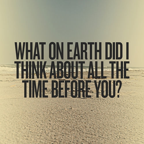 What You Think Quotes: Thinking About You Quotes For Him. QuotesGram