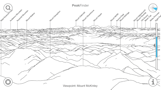 PeakFinder Earth- screenshot thumbnail