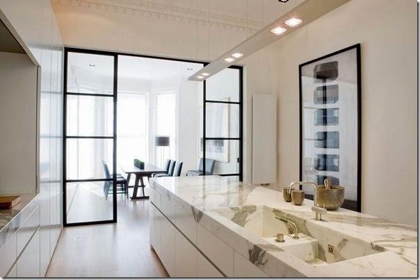 Cucine e pareti vetrate - Case e Interni