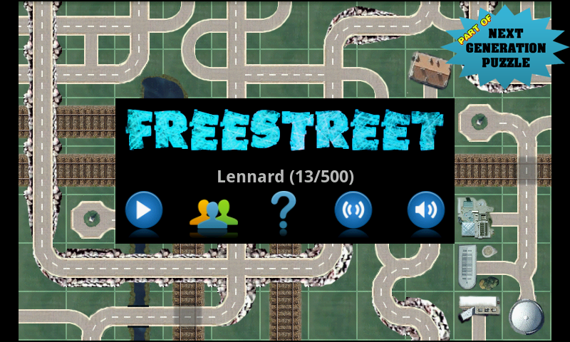 Freestreet Demo - screenshot