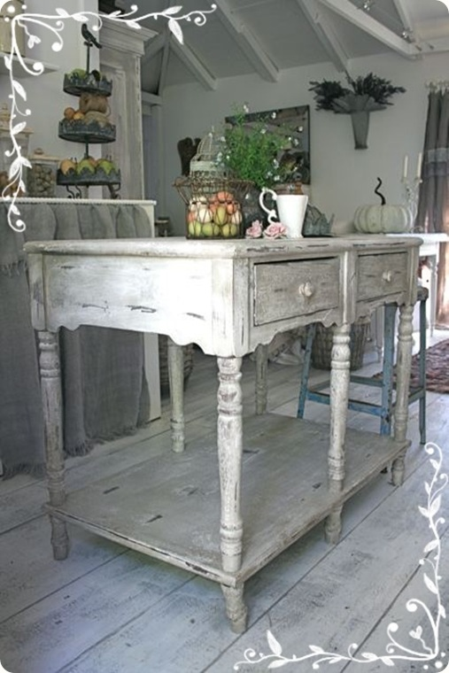 shabby and charme shabby chic on friday shabby in the kitchen. Black Bedroom Furniture Sets. Home Design Ideas