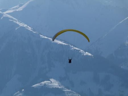 Vacanta Kaprun - Zell am See: parapanta in Alpi