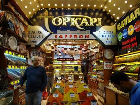 Magazin din bazerul egiptean Istanbul