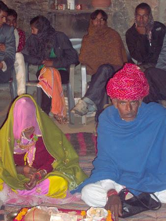 Nunta in India: socrii
