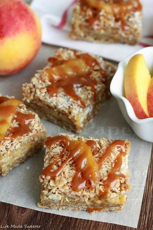 Coconut Peach Streusel Bars 8 - Life Made Sweeter.jpg
