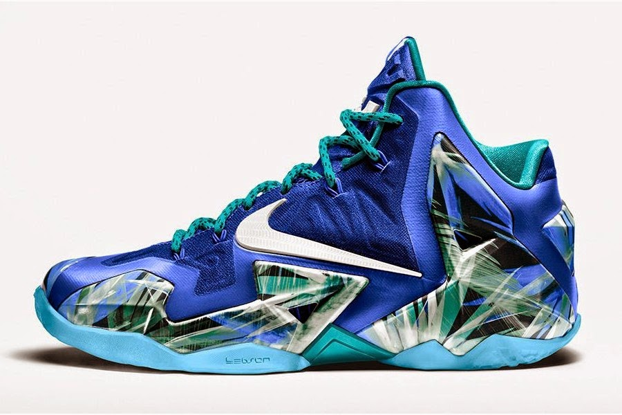 sports shoes 09755 51f0c NIKEiD LeBron 11 Everglades Option Comes Alive Tomorrow   NIKE LEBRON - LeBron  James Shoes