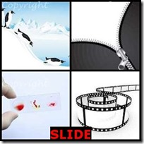 SLIDE- 4 Pics 1 Word Answers 3 Letters