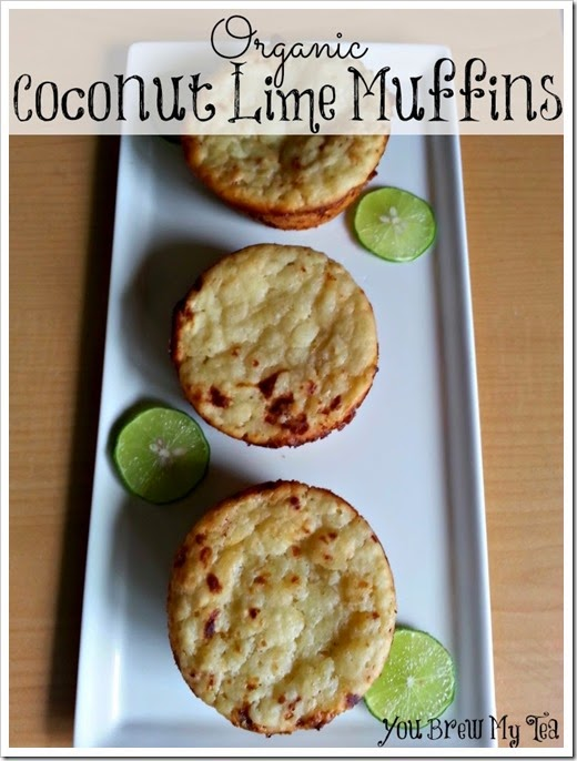 Organic Coconut Lime Muffins