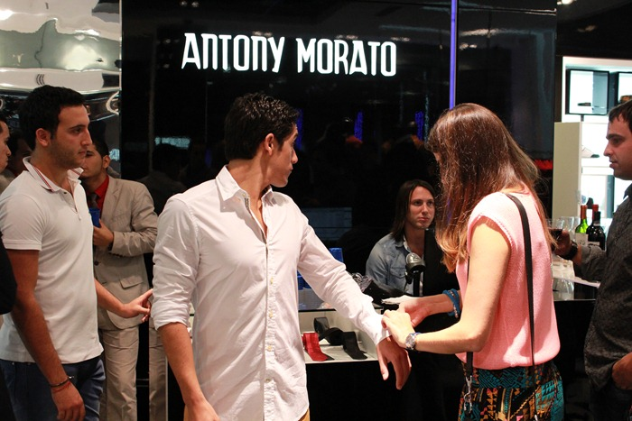 bright light fright a date with antony morato. Black Bedroom Furniture Sets. Home Design Ideas
