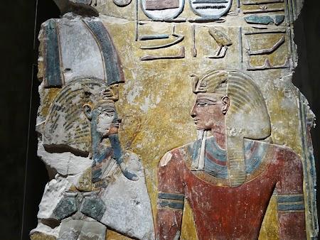 Muzeu Berlin: Statuie egipteana